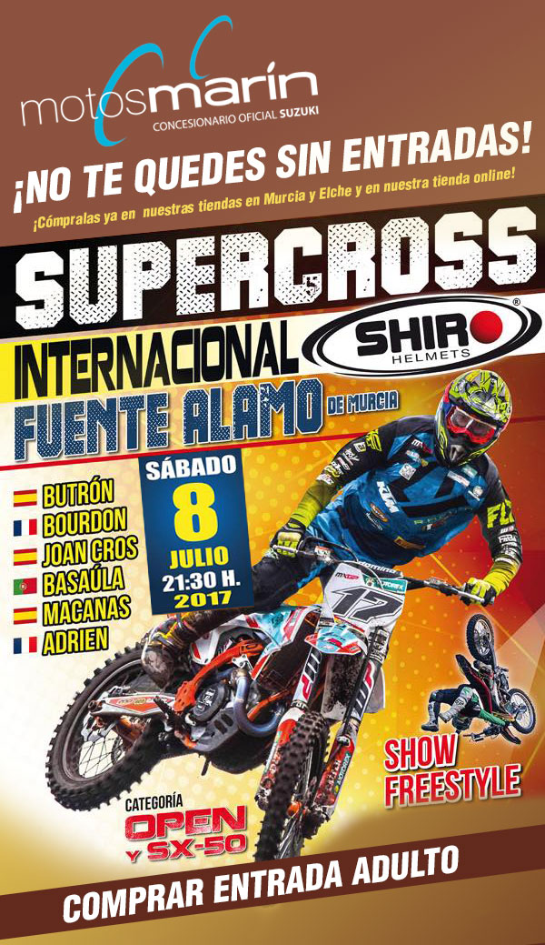 SUPERCROSS OPEN INTERNACIONAL FUENTE ÁLAMO